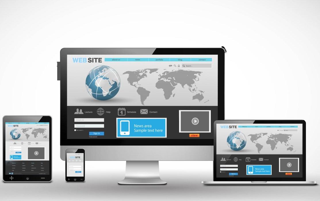 Muestra una web en diferentes dispositivos